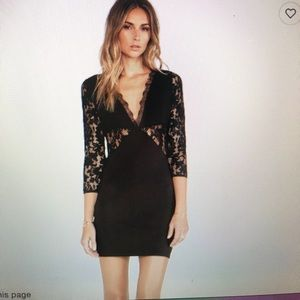NBD Lipstick Bodycon Dress
